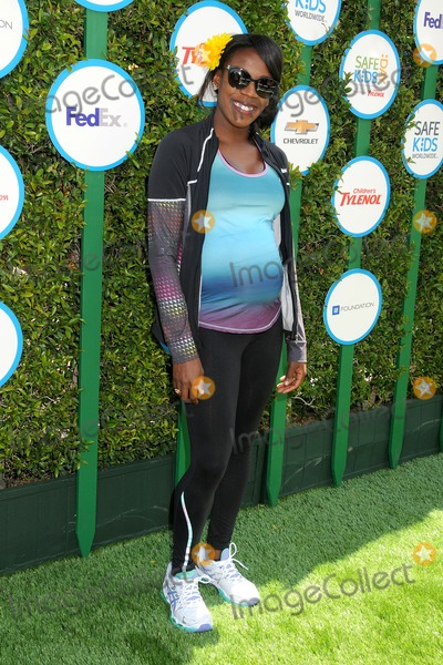 Alysia Montano Photo - 05 April 2014 - Hollywood, California - Alysia Montano. 2nd Annual Safe Kids Day held at The Lot. Photo Credit: Byron Purvis/AdMedia