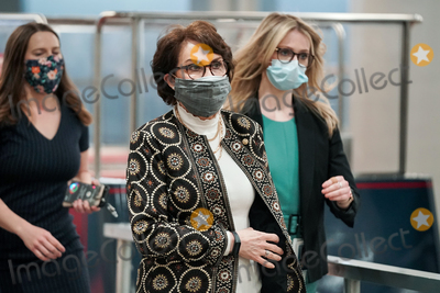Trump Impeachment, Donald Trump Photo - Sen. Jacky Rosen (D-Nev.) arrives at the Capitol on Wednesday, February 10, 2021 for the second day of the impeachment trial of former President Donald Trump.Credit: Greg Nash - Pool via CNP/AdMedia