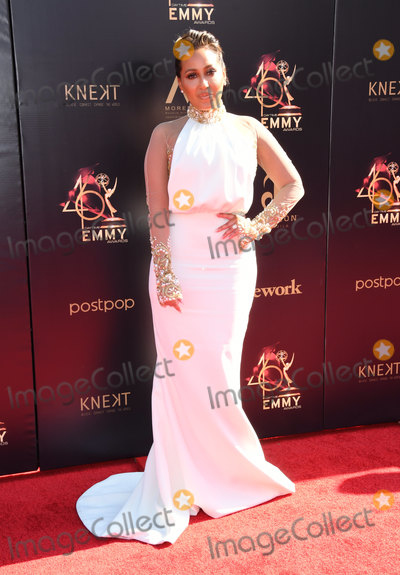 Adrienne Bailon, Adrienne Houghton Photo - 03 May 2019 - Pasadena, California - Adrienne Bailon, Adrienne Houghton. 46th Annual Daytime Creative Arts Emmy Awards - Arrivals held at Pasadena Civic Center. Photo Credit: Birdie Thompson/AdMedia