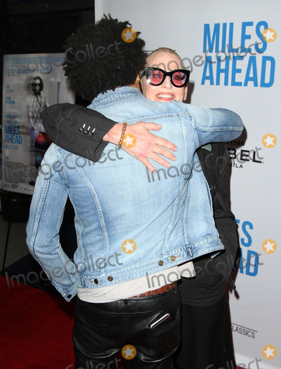 Lenny Kravitz, Lori Petty Photo - 29 March 2016 - Beverly Hills, California - Lenny Kravitz and Lori Petty. Premiere of Sony Pictures Classics Miles Ahead held at the Writers Guild Theater. Photo Credit: AdMedia
