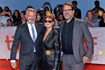 "Rainn Wilson, Sam Neill, Susan Sarandon Photo - 06 September 2019 - Toronto, Ontario Canada - Sam Neill, Susan Sarandon, Rainn Wilson. 2019 Toronto International Film Festival - ""Blackbird"" Premiere held at Roy Thomson Hall. Photo Credit: Brent Perniac/AdMedia"