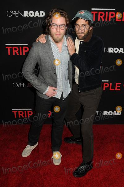 "Henry Joost, Ariel Schulman Photo - 16 February 2016 - Los Angeles, California - Henry Joost, Ariel Schulman. ""Triple 9"" Los Angeles Premiere held at Regal Cinemas LA Live. Photo Credit: Byron Purvis/AdMedia"