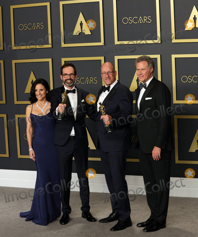 Julia Louis-Dreyfus, Michael Bublé, Michael Paré, Will Ferrell, Andrew Buckland Photo - 09 February 2020 - Hollywood, California -     Andrew Buckland, Michael McCusker, Julia Louis-Dreyfus, Will Ferrel attend the 92nd Annual Academy Awards presented by the Academy of Motion Picture Arts and Sciences held at Hollywood & Highland Center. Photo Credit: Theresa Shirriff/AdMedia