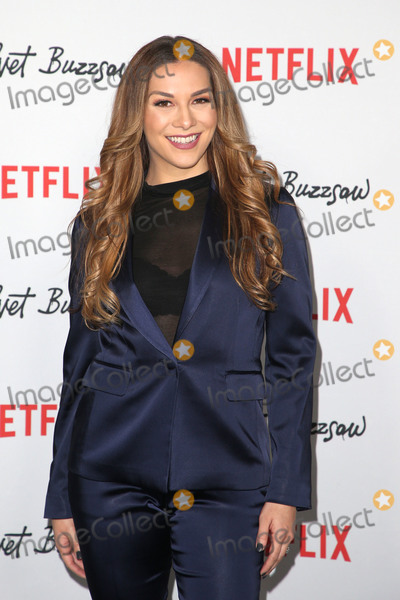 "Allison Holker Photo - 28 January 2019 - Hollywood, California - Allison Holker. Premiere Screening Of ""Velvet Buzzsaw"" held at The Egyptian Theatre. Photo Credit: Faye Sadou/AdMeda"