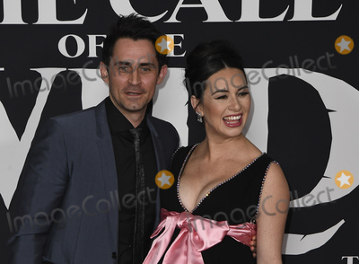 Photo - 13 February 2020 - Hollywood, California - Cara Gee and Husband Richard de Klerk. The Call of the Wild Twentieth Century Studios World Premiere held at El Capitan Theater. Photo Credit: Dave Safley/AdMedia