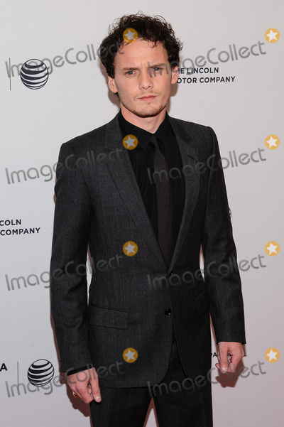 """Anton Yelchin Photo - 19 June 2016 - Los Angeles, California - Star Trek Actor Anton Yelchin Killed at 27 in Freak Car Accident. Yelchin was due to meet friends for a rehearsal. After not hearing from him for hours, his friends went to his home in Studio City at 1 a.m. and found Yelchin pinned between his car and a brick wall. His driveway is on an incline and his car was found still running and in neutral. File Photo: 19 April 2014 - New York, New York- Anton Yelchin. 2014 Tribeca Film Festival - """"5 to 7"""". Photo Credit: Mario Santoro/AdMedia"""