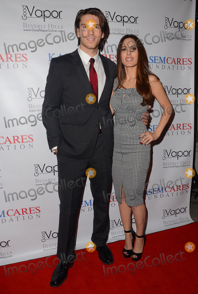 Jesse Kove, Kerri Kasem, Kerry Kasem, Kerry Bishé Photo - 22 February 2014 - Universal City, California - Jesse Kove, Kerri Kasem. Arrivals for the Kasem Cares Foundation's first annual fundraiser at Good Vapor in Beverly Hills, Ca. Photo Credit: Birdie Thompson/AdMedia