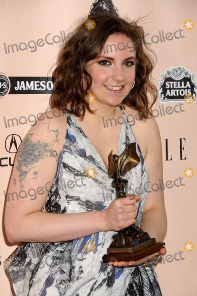 Lena Dunham Photo - 26 February 2011 - Santa Monica, California - Lena Dunham. 2011 Film Independent Spirit Awards - Press Room held at Santa Monica Beach. Photo: Byron Purvis/AdMedia