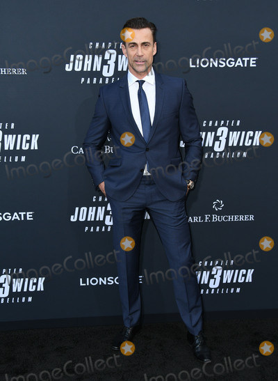 """Daniel Bernhardt, TCL Chinese Theatre, John Wicks Photo - 15 May 2019 - Hollywood, California - Daniel Bernhardt. """"John Wick: Chapter 3 - Parabellum"""" Special Screening Los Angeles held at the TCL Chinese Theatre. Photo Credit: Birdie Thompson/AdMedia"""