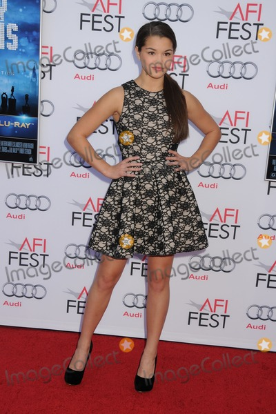 Actress Paris Berelc attends the 50th Anniversary of Mary