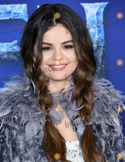 "Selena Gomez, Gomez Photo - 07 November 2019 - Hollywood, California - Selena Gomez. Disney's ""Frozen 2"" Los Angeles Premiere held at Dolby Theatre. Photo Credit: Birdie Thompson/AdMedia"