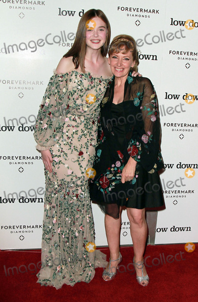 """Elle Fanning, Amy-Jo Albany Photo - 23 October 2014 - Hollywood, California - Elle Fanning, Amy-Jo Albany. """"Low Down"""" Los Angeles Premiere held at the Arclight Theatre. Photo Credit: Theresa Bouche/AdMedia"""
