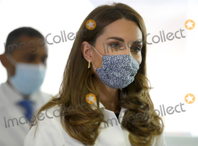 Kate Middleton, The Duchess Photo - 14th October 2020 - Kate Duchess of Cambridge during a visit to the Institute of Reproductive and Development Biology, at Imperial College in London. The Duchess of Cambridge visited the London research centre to hear about the work that national charity Tommy's are doing to reduce rates of miscarriage, stillbirth and premature birth. Photo Credit: ALPR/AdMedia