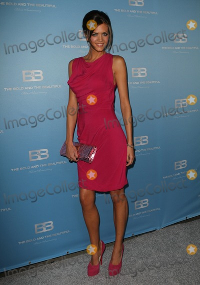 "Astrid Bryan Photo - 10 March 2012 - Los Angeles, California - Astrid Bryan. 25th silver anniversary party for CBS' ""the bold and the beautiful"" - silver carpet Held At Hill Street. Photo Credit: Kevan Brooks/AdMedia"