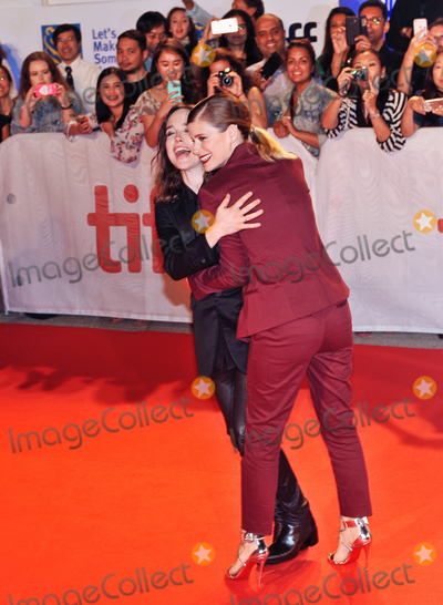 "Ellen Page, Kate Mara Photo - 15 September 2017 - Toronto, Ontario Canada - Kate Mara, Ellen Page.  2017 Toronto International Film Festival - ""My Days Of Mercy"" Premiere held at Roy Thomson Hall. Photo Credit: Brent Perniac/AdMedia"