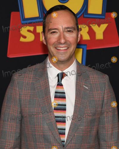 "Tony Hale Photo - 12 June 2019 - Hollywood, California - Tony Hale. ""Toy Story 4"" Disney and Pixar Los Angeles Premiere held at El Capitan Theatre. Photo Credit: Billy Bennight/AdMedia"
