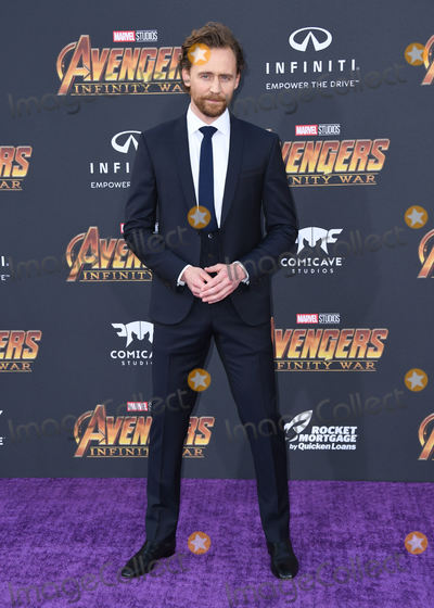 """Tom Hiddleston, Tom Hiddlestone, Tom   Hiddleston Photo - 23 April 2018 -  Hollywood, California - Tom Hiddleston. Disney and Marvel's """"Avengers: Infinity War"""" Los Angeles Premiere held at Dolby Theater. Photo Credit: Birdie Thompson/AdMedia"""