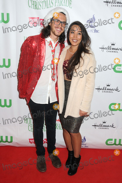 Sierra Deaton, Alex Kinsey Photo - 29 November 2015 - Hollywood, California - Alex Kinsey, Sierra Deaton. 84th Annual Hollywood Christmas Parade held on Hollywood Blvd. Photo Credit: Byron Purvis/AdMedia