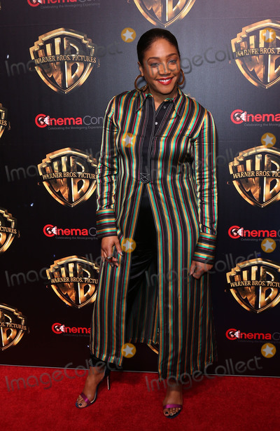 Tiffany Haddish, Tiffany Photo - 02 April 2019 - Las Vegas, NV - Tiffany Haddish. 2019 CinemaCon WB Studio Presentation Red Carpet at Caesars Palace. Photo Credit: MJT/AdMedia