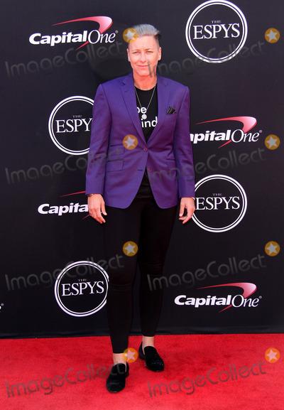 Abby Wambach Photo - 12 July 2017 - Los Angeles, California - Abby Wambach. 2017 ESPYS Awards Arrivals held at the Microsoft Theatre in Los Angeles. Photo Credit: AdMedia