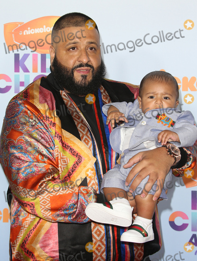 Khaled, DJ KHALED, Dj Khaleed Photo - 11 March 2017 -  Los Angeles, California - DJ Khaled, Asahd Tuck Khaled. Nickelodeon's Kids' Choice Awards 2017 held at USC Galen Center. Photo Credit: Faye Sadou/AdMedia