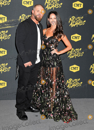 Brantley Gilbert, Amber Cochran Photo - 06 June 2018 - Nashville, Tennessee - Brantley Gilbert, Amber Cochran. 2018 CMT Music Awards held at Bridgestone Arena. Photo Credit: Laura Farr/AdMedia