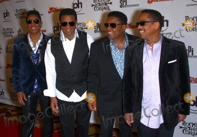 Jackie Jackson, Jermaine Jackson, Marlon Jackson, The Jacksons, Tito Jackson Photo - 22 February 2014 - Las Vegas, NV -  The Jacksons, Jermaine Jackson, Jackie Jackson, Tito Jackson, Marlon Jackson. Red Carpet for RockTellz & CockTails Presents The Jacksons at Planet Hollywood Resort & Casino. Photo Credit: mjt/AdMedia