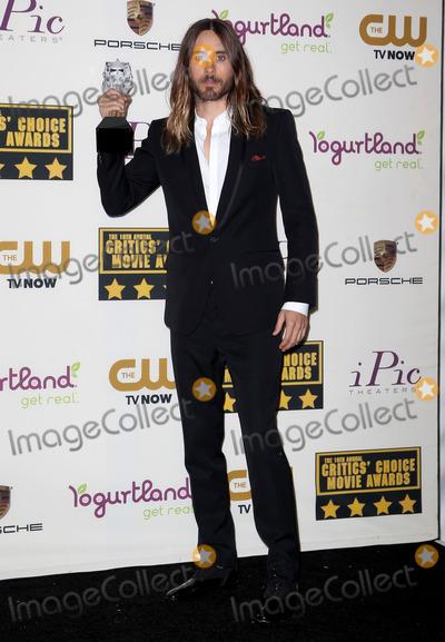 Jared Leto Photo - 16 January 2014 - Santa Monica, California - Jared Leto. 19th Annual Critics' Choice Movie Awards held at Barker Hangar. Photo Credit: Kevan Brooks/AdMedia