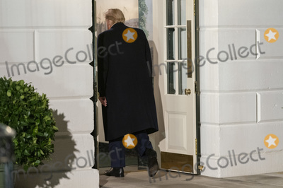 White House, The White Photo - United States President Donald J. Trump returns to the White House in Washington, DC after participating in political events and fundraising on his re-election campaign on October 19, 2020. Credit: Chris Kleponis / Pool via CNP/AdMedia