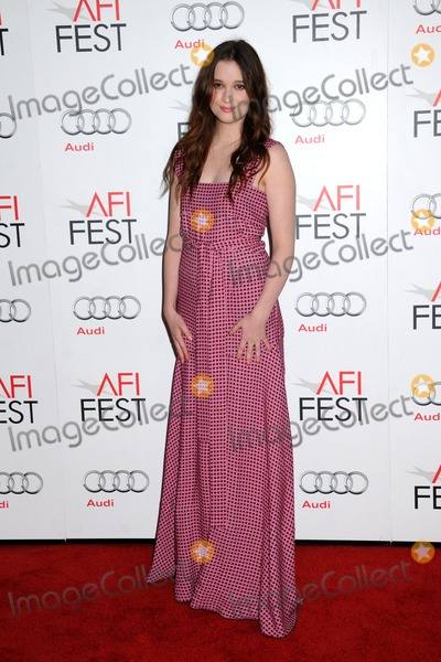 "Alice Englert, Grauman's Chinese Theatre Photo - 7 November 2012 - Hollywood, California - Alice Englert. AFI FEST 2012 ""Ginger And Rosa"" Special Screening held at Grauman's Chinese Theatre. Photo Credit: Byron Purvis/AdMedia"