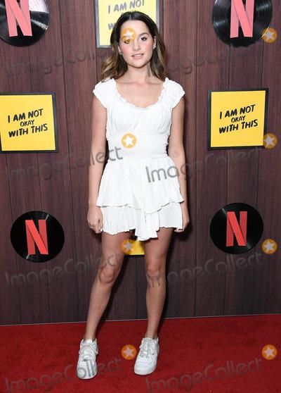 "Annie LeBlanc Photo - 25 February 2020 - West Hollywood, California - Annie LeBlanc. Netflix's ""I'm Not Okay With That"" Los Angeles Premiere held at The London West Hollywood. Photo Credit: Birdie Thompson/AdMedia"