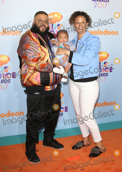 Khaled, DJ KHALED, Dj Khaleed Photo - 11 March 2017 -  Los Angeles, California - DJ Khaled, Nicole Tuck, Asahd Tuck Khaled. Nickelodeon's Kids' Choice Awards 2017 held at USC Galen Center. Photo Credit: Faye Sadou/AdMedia