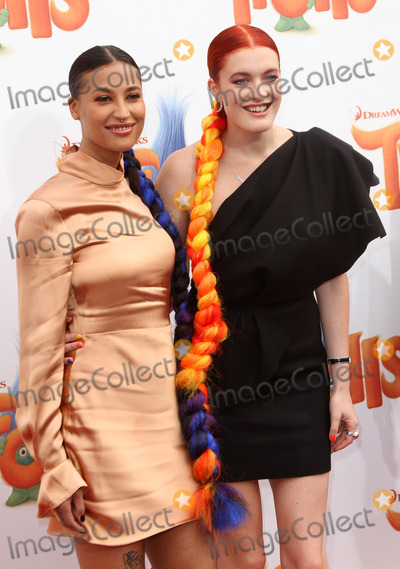 Caroline Hjelt, Aino Jawo, Icona Pop Photo - 23 October 2016 - Los Angeles, California - Aino Jawo and Caroline Hjelt of Icona Pop. Trolls Los Angeles Premiere held at the Regency Village Theatre in Los Angeles. Photo Credit: AdMedia
