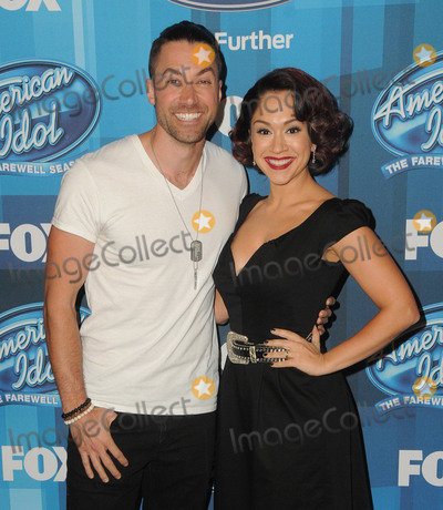 "Ace Young, Diana De Garmo Photo - 07 April 2016 - Hollywood, California - Ace Young, Diana DeGarmo. Arrivals for FOX's ""American Idol"" Finale For The Farewell Season held at The Dolby Theater. Photo Credit: Birdie Thompson/AdMedia"