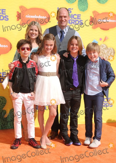 Allison Munn, Casey Simpson, Gallagher, Mace Coronel, Lizzy Greene, Aidan Gallagher, Brian Stepanek, Lizzie Greene Photo - 28 March 2015 - Inglewood, California - Aidan Gallagher, Allison Munn, Lizzy Greene, Brian Stepanek, Mace Coronel, Casey Simpson. 2015 Kids Choice Awards held at The Forum. Photo Credit: Byron Purvis/AdMedia