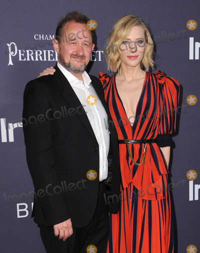 """Andrew Upton, Cate Blanchett, CATE BLANCHETTE Photo - 23 October  2017 - Los Angeles, California - Andrew Upton, Cate Blanchett. Third Annual """"InStyle Awards"""" held at The Getty Center in Los Angeles. Photo Credit: Birdie Thompson/AdMedia"""