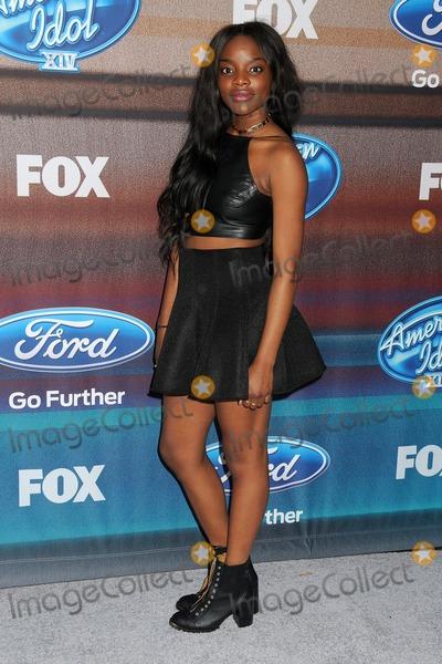 Adanna Duru Photo - 11 March 2015 - West Hollywood, California - Adanna Duru. American Idol Season 14 Finalists Party held at The District. Photo Credit: Byron Purvis/AdMedia