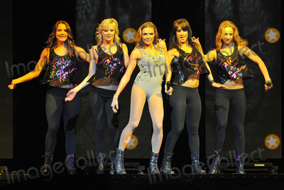 """Ashlyne Huff, Backstreet Boys, Brian Littrell, Howie Dorough, Nick Carter, Backstreet  Boys Photo - 15 June 2011 - Pittsburgh, PA - Pop singer ASHLYNE HUFF performs as the opening act for the """"NKOTBSB TOUR 2011"""" held at the Consol Energy Center. BACKSTREET BOYS are Brian Littrell, Nick Carter, A.J. McLean and Howie Dorough. Photo Credit: Jason L Nelson/AdMedia"""