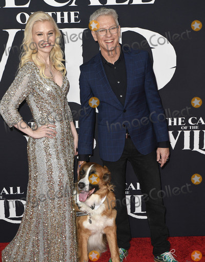 Photo - 13 February 2020 - Hollywood, California - Chris Sanders and Wife Jessica Steele-Sanders. The Call of the Wild Twentieth Century Studios World Premiere held at El Capitan Theater. Photo Credit: Dave Safley/AdMedia