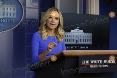 Kayleigh McEnany, White House, The White Photo - White House Press Secretary Kayleigh McEnany holds a daily press briefing in the Brady Press Briefing Room of the White House in Washington, DC on October 1, 2020. Credit: Yuri Gripas / Pool via CNP/AdMedia