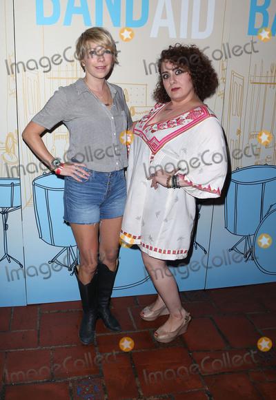 "Artemis Pebdani, Teairra Marí Photo - 30 May 2017 - Los Angeles, California - Mary Elizabeth Ellis, Artemis Pebdani. Premiere Of IFC Films' ""Band Aid"" held at The Theatre at Ace Hotel. Photo Credit: F. Sadou/AdMedia"