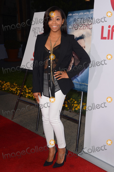 "Bresha Webb Photo - 01 May 2014 - Hollywood, California - Bresha Webb. Arrivals for the Los Angeles premiere of Lifetime's ""Return To Zero"" held at the Paramount Theater in Hollywood, Ca. Photo Credit: Birdie Thompson/AdMedia"