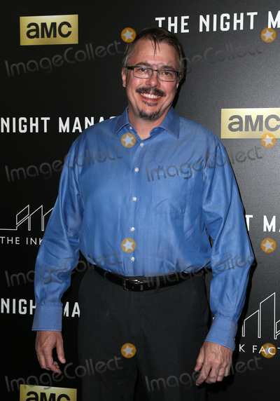 "Vince Gilligan Photo - 05 April 2016 - West Hollywood, Vince Gilligan. Premiere Of AMC's ""The Night Manager"" at The DGA Theater. Photo Credit: F.Sadou/AdMedia"