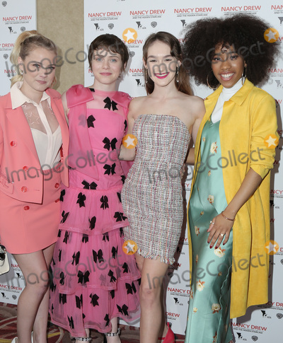 Sophia Lillis, Zoe Renee, Katt Shea, Mackenzie Graham Photo - 10 March 2019 - Los Angeles, California - Laura Slade Wiggins, Sophia Lillis, Katt Shea, Mackenzie Graham, Zoe Renee. World Premiere of 'Nancy Drew and the Hidden Staircase' held at AMC Century City 15. Photo Credit: PMA/AdMedia