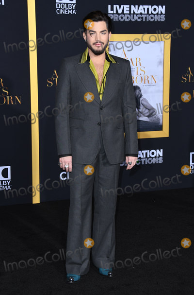 "Adam Lambert Photo - 24 September 2018 - Los Angeles, California - Adam Lambert. ""A Star is Born"" Los Angeles Premiere held at The Shrine Auditorium. Photo Credit: Birdie Thompson/AdMedia"