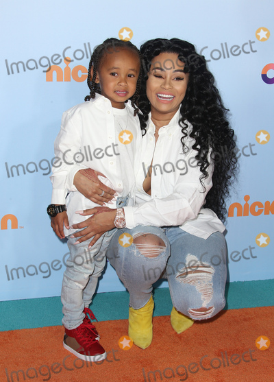 Blac Chyna Photo - 11 March 2017 -  Los Angeles, California - Blac Chyna, Dream Renee Kardashian. Nickelodeon's Kids' Choice Awards 2017 held at USC Galen Center. Photo Credit: Faye Sadou/AdMedia