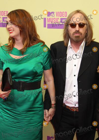 Adria Petty, Tom Petty Photo - 6 September 2012 - Los Angeles, California - Tom Petty, daughter Adria Petty. 2012 MTV Video Music Awards held at Staples Center. Photo Credit: Russ Elliot/AdMedia