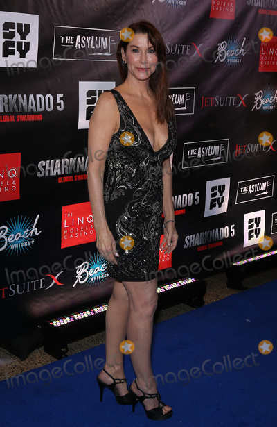 Caroline Williams Photo - 06 August 2017 - Las Vegas, NV - Caroline Williams.  Sharknado 5 Global Swarming red carpet premiere at Linq Hotel and Casino. Photo Credit: MJT/AdMedia