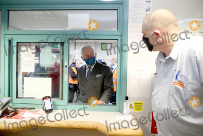Prince Charles, Charles, Prince of Wales, Prince, Prince of Wales, Wale, Coronavirus Pandemic Photo - 18th December 2020 - Prince Charles Prince of Wales, wearing a mask because of the coronavirus pandemic, arrives to visit Royal Mail's Delivery Office in Cirencester, Gloucestershire. Prince Charles visited the Royal Mail in Cirencester to recognise the vital public services that the country's postal workers provide, especially during the coronavirus pandemic and in the run-up to Christmas. Photo Credit: ALPR/AdMedia