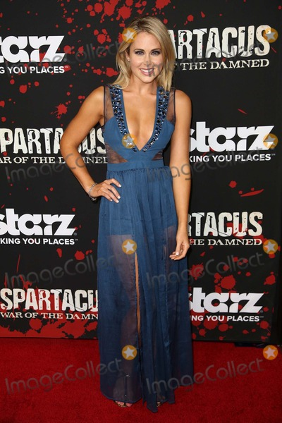 """Anna Hutchison, Damned, The Damned, Anna Maria Perez de Taglé Photo - 22 January 2013 - Los Angeles, California - Anna Hutchison. Premiere Of Starz's """"Spartacus: War Of The Damned""""'  Held At Regal Cinemas L.A. Live. Photo Credit: Kevan Brooks/AdMedia"""
